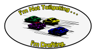 not tailgating drafting