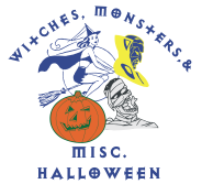Witches, Monsters, and halloween