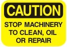 stop machinery