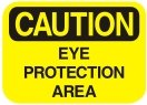 eye protection area