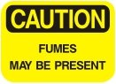 fumes may be present