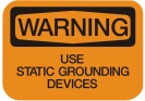 use static grounding devices